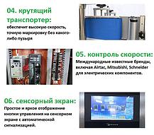 Этикетировочный автомат для нанесения самоклеящейся этикетки 50-150 бут/мин, фото 3