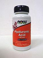 БАД гиалуроновая кислота, 50 мг, 60 растительных капсул