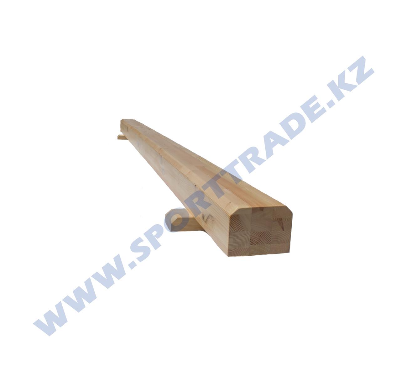 Бревно гимнастическое СТАНД-Т (13,5х16) напольное 3м - фото 2