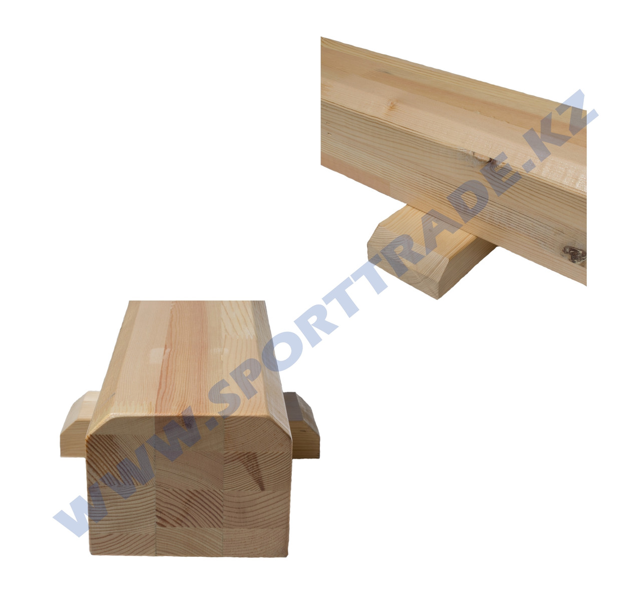 Бревно гимнастическое СТАНД-Т (13,5х16) напольное 3м - фото 3