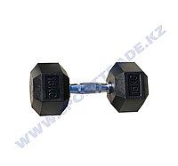 Гантель ПРО гексагон 15+15 кг