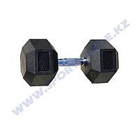 Гантель ПРО гексагон 27,5+27,5 кг