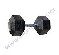 Гантель ПРО гексагон 30+30 кг