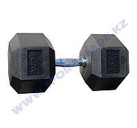 Гантель ПРО гексагон 45+45 кг