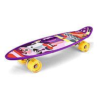 Скейт-пенниборд маленький цветной 701-d