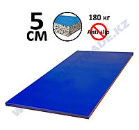 Татами дзюдо 5 см (1х2м) ПВВ 180 кг/м без антислипа синий