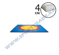 Ковер борцовский 8,3х8,3 3-цв.+4см НПЭ Стар.Станд.