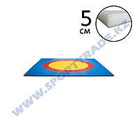 Ковер борцовский 8,3х8,3 3-цв.+5см НПЭ Стар.Станд.