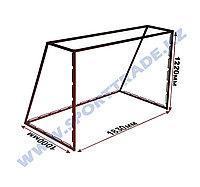 Ворота хоккейные ТРЕН+