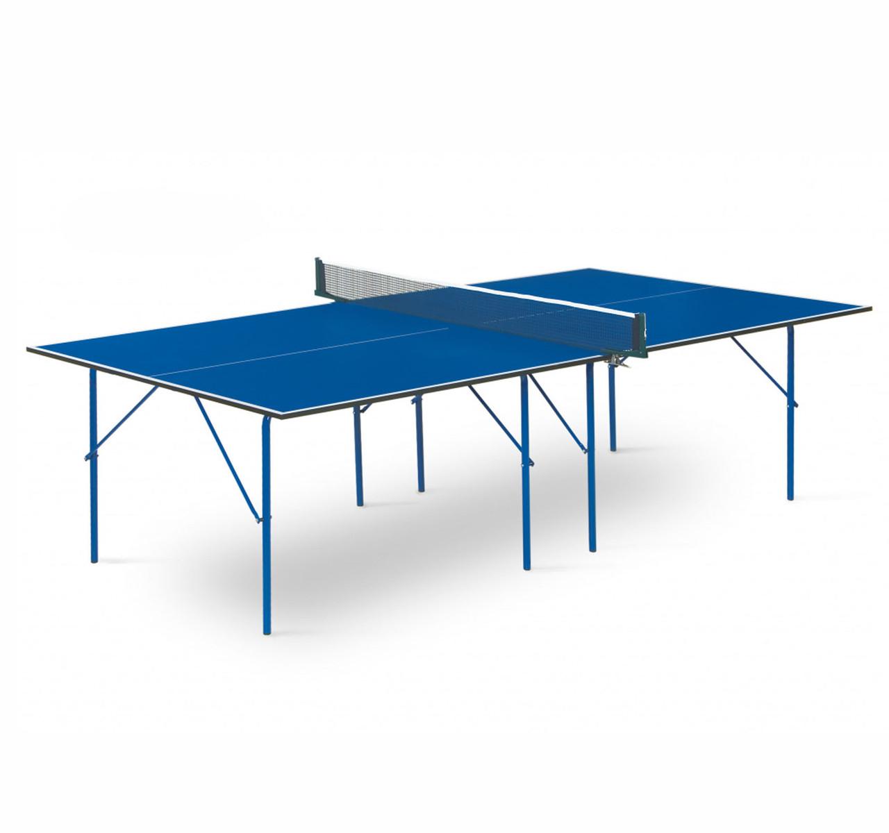 Теннисный стол Start line HOBBY - 2 Blue - фото 1