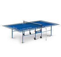 Теннисный стол Start line OLYMPIC Optima с сеткой Blue