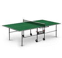 Теннисный стол Start line OLYMPIC Optima с сеткой Green