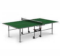 Теннисный стол Start line OLYMPIC с сеткой Green