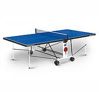 Теннисный стол Start line СOMPACT LX с сеткой Blue