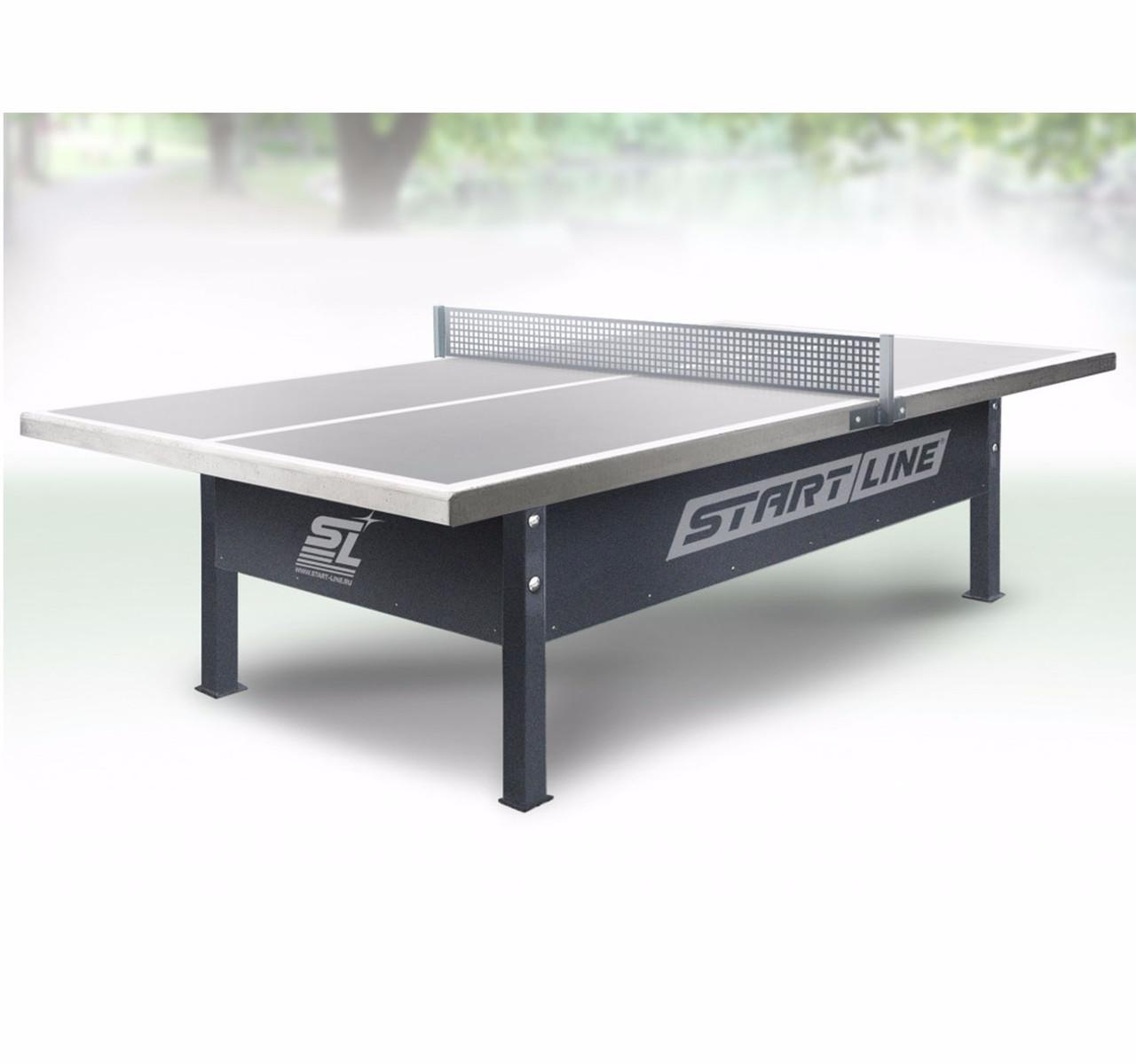 Теннисный стол Start line CITY с сеткой Park Outdoor - фото 1