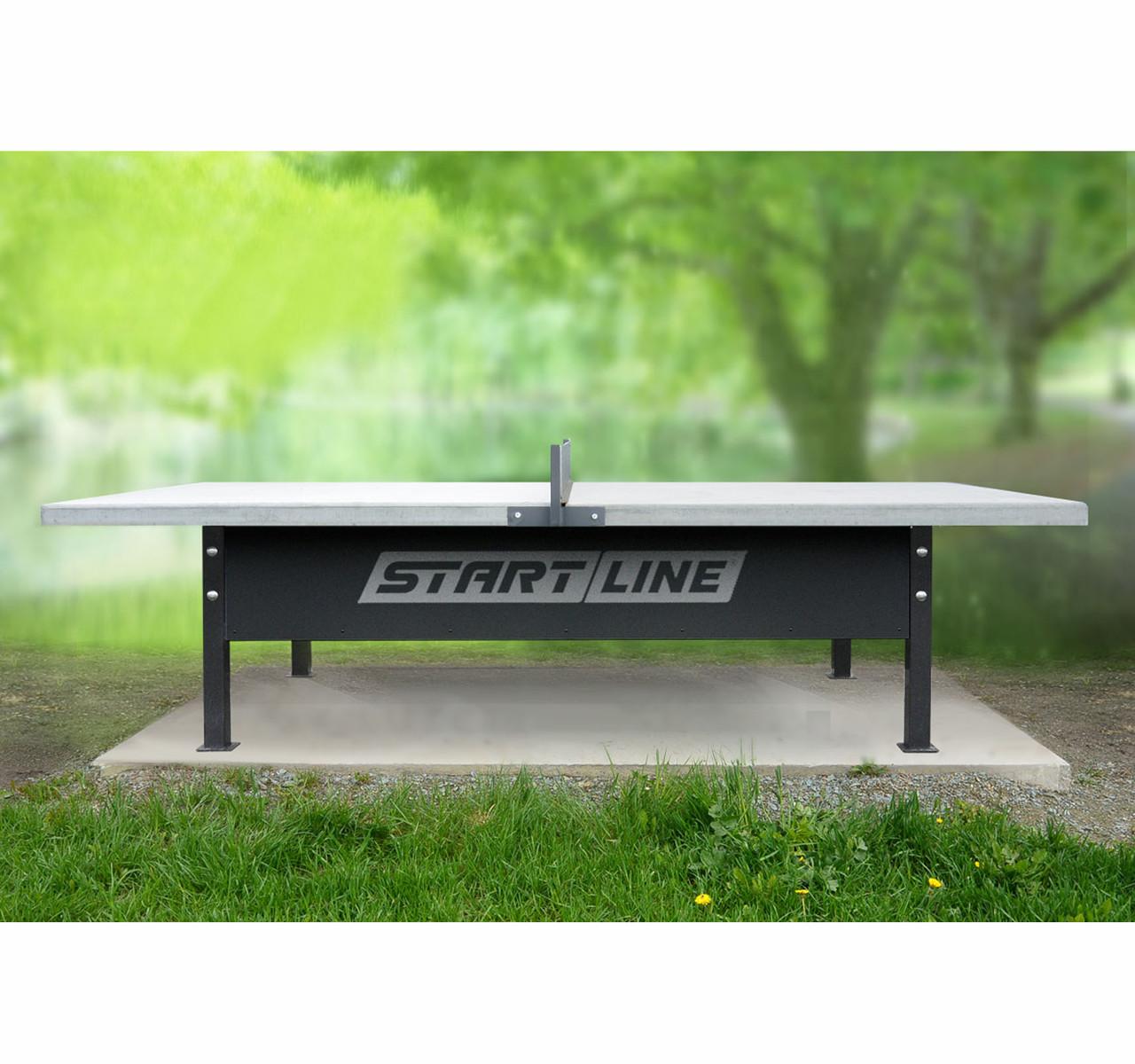 Теннисный стол Start line CITY с сеткой Park Outdoor - фото 2