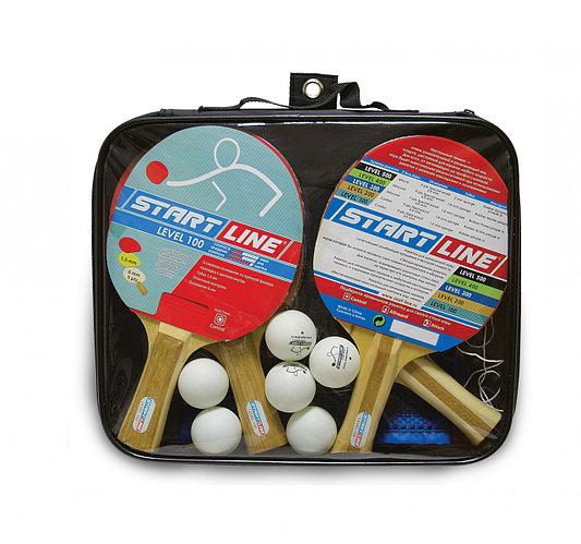 Набор 4 р-ки Level 100, 6 мяча Club Select, сетка с креплением Start Line