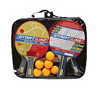 Набор 4 р-ки Level 200, 6 мяча Club Select, сетка с креплением Start Line