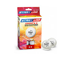 Шарики Standart 2* New (6 шт, бел.) Start Line