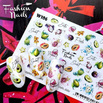 Слайдер Fashion Nails W106