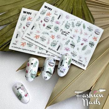 Слайдер Fashion Nails W101
