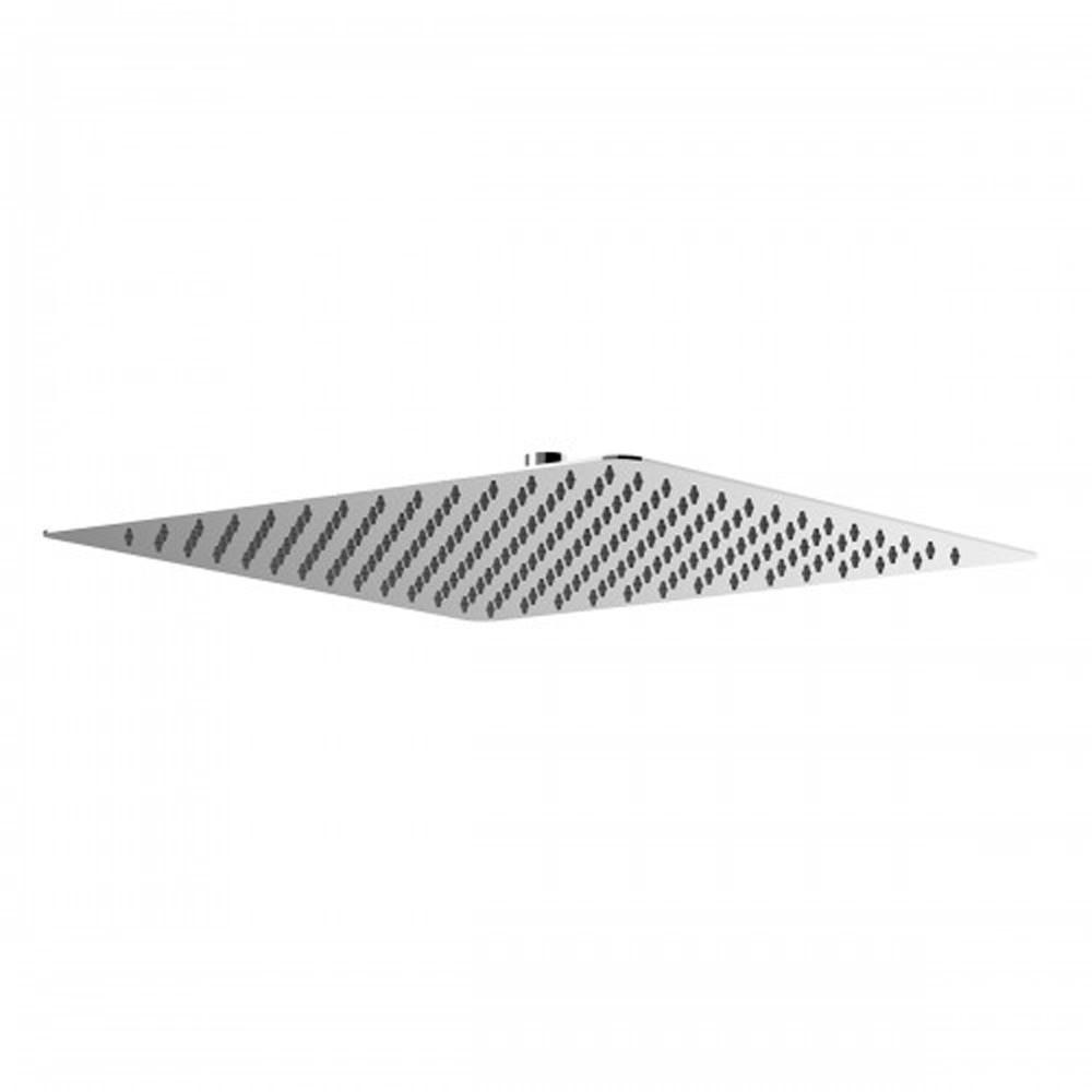 Лейка душевая верхняя LeMark LM9489S, квадратная, 400х400 мм, нержавеющая сталь