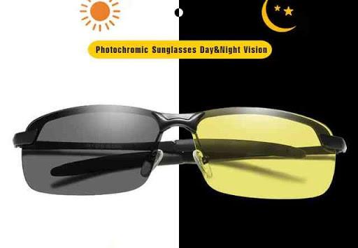 Очки фотохром - хамелеон  для водителей 2 в 1 (День - Ночь)