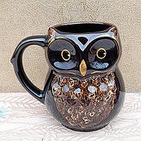 Оригинальная керамическая кружка для кофе,чая Сова