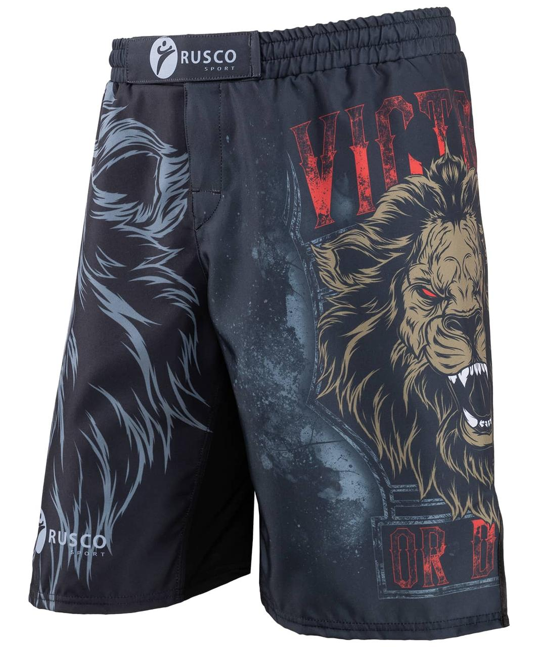 Шорты для MMA Lion, взрослые Rusco