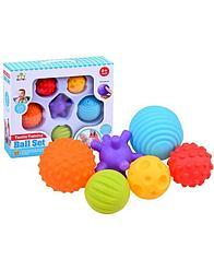 №1106 резиновые фигурки (мячи/блоки в коробке)