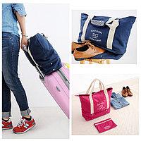 Сумка с отсеком для обуви, для путешествий, в розовом цвете