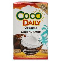 Органическое кокосовое молоко Coco Daily 1 л.