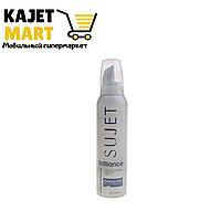 """Пенка """" SUJET"""" для укладки волос сильной фиксации 160мли"""