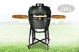 Керамический гриль-барбекю Start grill-22 (со стеклянным окошком), фото 4