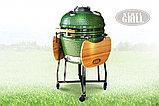 Керамический гриль-барбекю Start grill-22 (со стеклянным окошком), фото 6