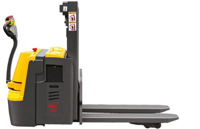 Электрическая самоходная тележка (электророхля) XILIN CBD20S двухуровневая сопровождаемая 2000 кг 2000 мм