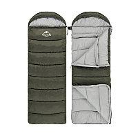 Спальник U series Envelop washable cotton sleeping bag with hood (Army Green)