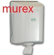 Полотенце бумажное рулонное центральной вытяжки MUREX, 6 рулонов по 75 метров