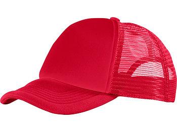 Бейсболка Trucker, красный