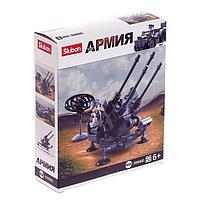 Конструктор Армия «Ракетница ПВО», 96 деталей