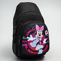 Сумка-рюкзак «Минни», 15 х 26 см, отдел на молнии, н/карман, рег. ремень, Дисней