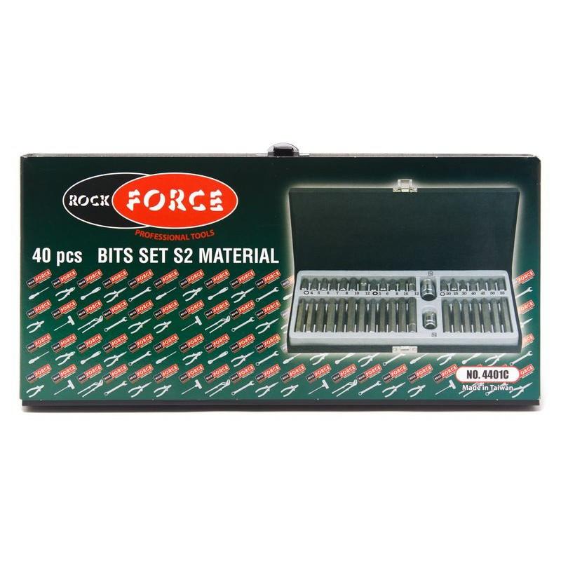 Набор бит с битодержателями, 40пр. Rock FORCE - фото 2