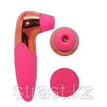 Вакуумный стимулятор клитора Pro-X5 Suck Massager розовый 16 см