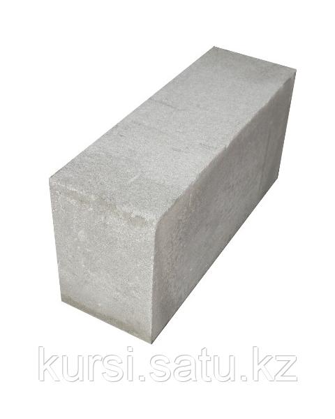 Блок газобетонный автоклавный 100*250*625