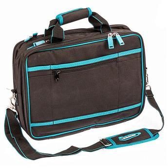 (90271) Сумка для инструмента Meister, 31 карман, отсек для ноутбука, наплечный ремень,400х170х300мм// Gross