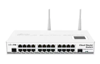 Коммутатор Cloud Router Switch Mikrotik 125-24G-1S-2HnD-IN (RouterOS L5)
