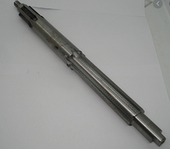 Вал главный L-390mm Z-6 шпонка d-18mm (под вал отбора мощности) - МТ