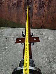 Ось на прицеп (балка прицепа) под жигулевское колесо ТМ Зализо