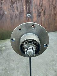 """Балка 155 см ТМ """"""""Зализо"""" усиленная на прицеп под жигулевское колесо (∅ 48 мм, 1 т, 2101)"""""""
