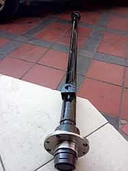 """Балка 140 см ТМ """"""""Зализо"""""""" для прицепа под жигулевское колесо (∅ 48 мм, 1 т, 2108)"""